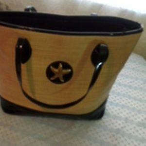 Handbags - Straw handbag